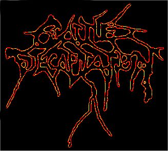 Death metal band Cattle Decapitation from San Diego